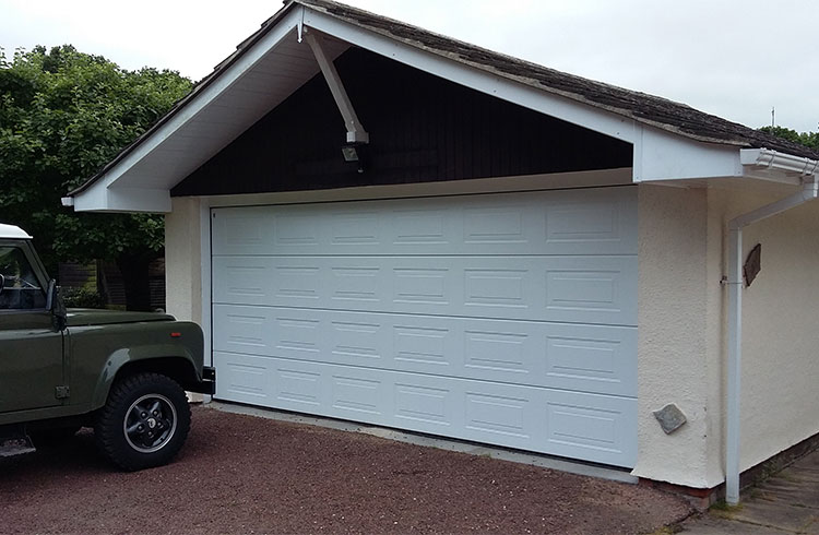 Garage door - Chobham, Surrey