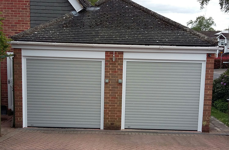 Garage door - Frimley, Surrey