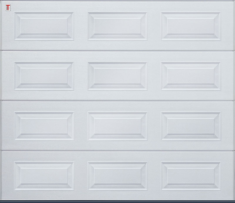 Insulated Steel Panel Sectional Garage Doors Right