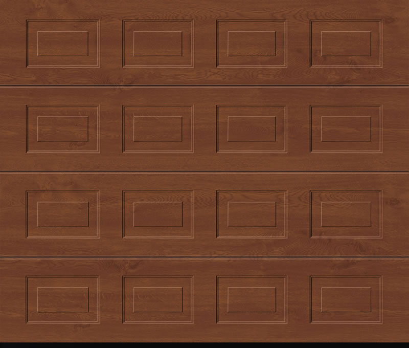 Garadoor Sectional Garage Doors - Georgian Timber Effect