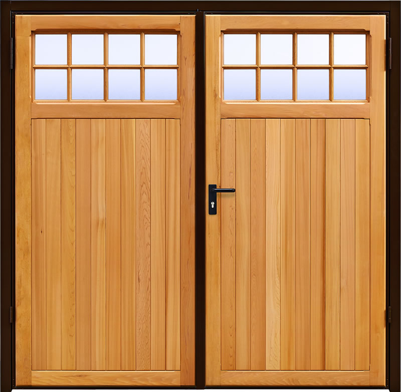Garadoor Side Hinged Garage Doors - Ashton