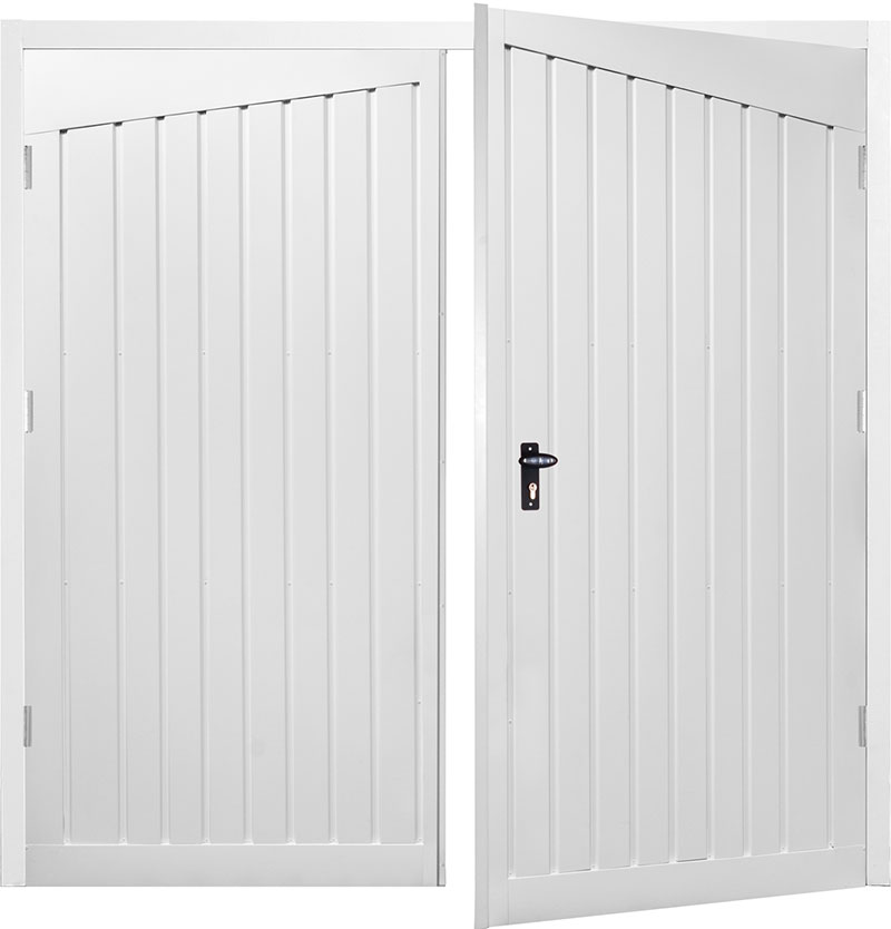 Gliderol Side Hinged Garage Doors - Alton