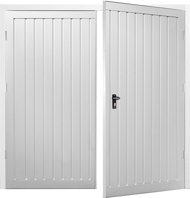 Gliderol Side Hinged Garage Doors - Drayton Standard Vertical