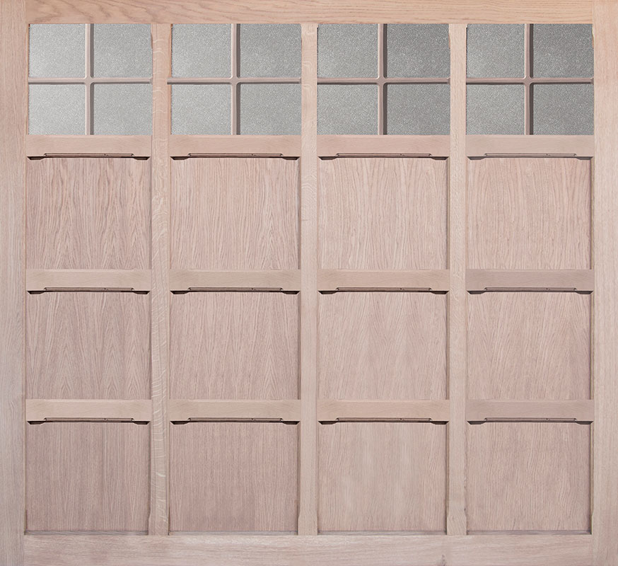 Woodrite Tiber Up and Over Garage Doors - Monmouth Oak - Oakgrove