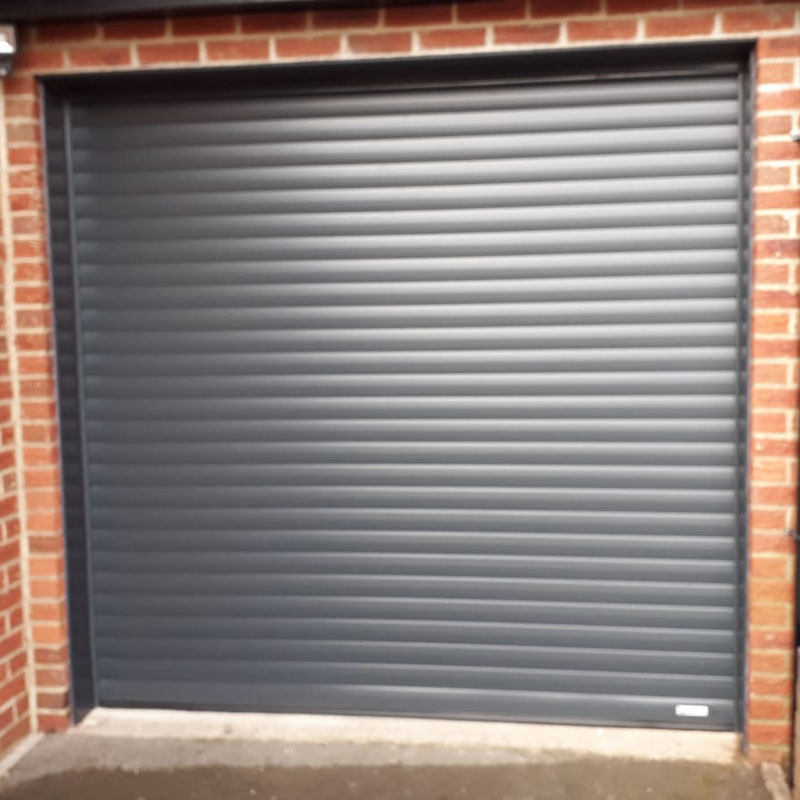 Roller shutter garage doors installation gallery