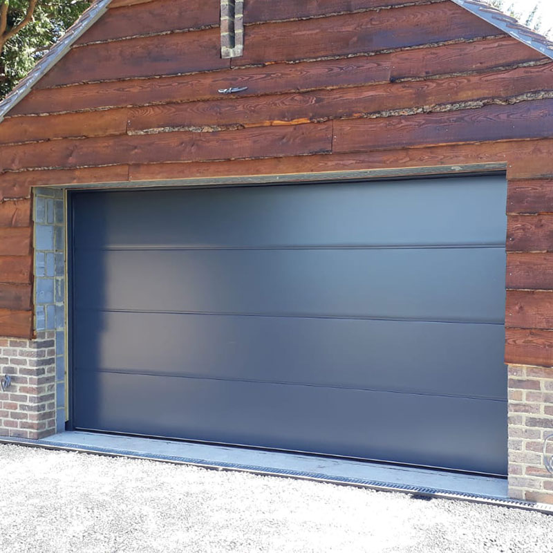 Sectional garage doors installation gallery